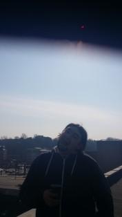 solar eclipse + me